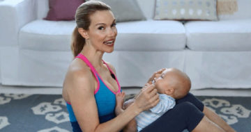 4 Celebrities Share How They Got Back In Shape After Baby Birth